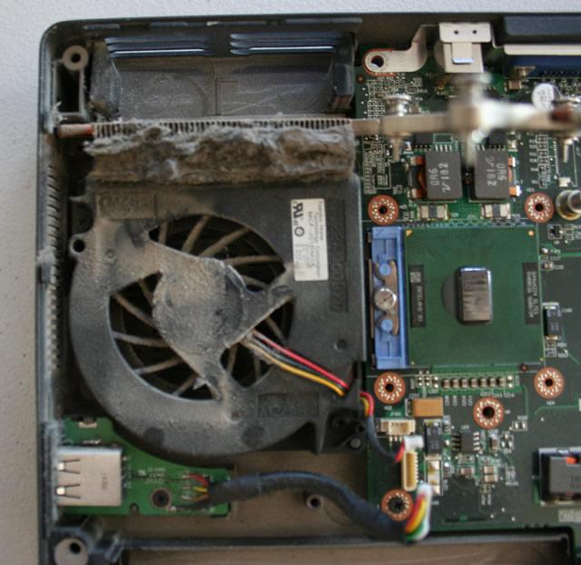 Koliko je prasina losa za moj laptop?