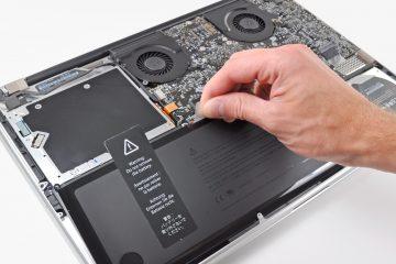 Laptop baterije
