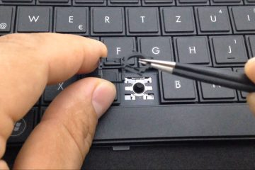 Laptop tastature